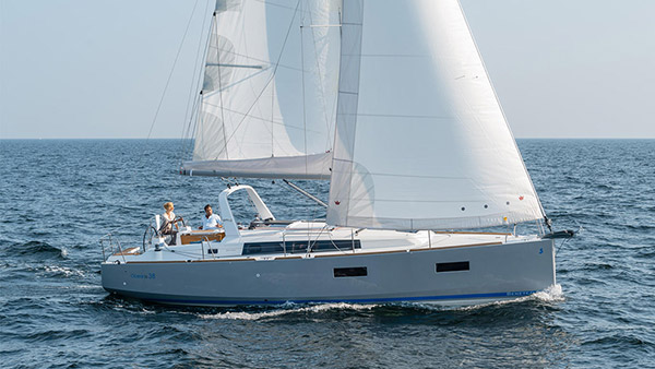 Our vessel Beneteau Oceanis 38 named Mighty M