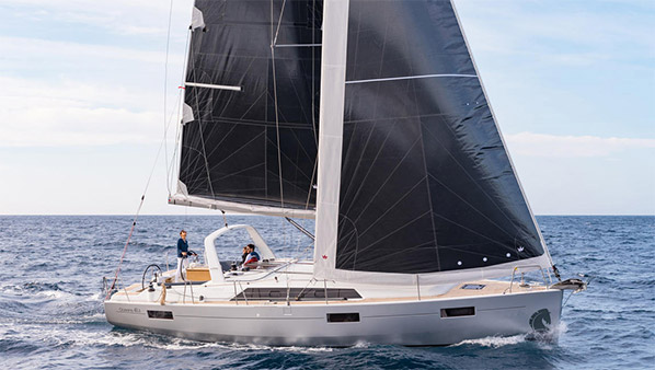 Vessel of Beneteau Oceanis 41.1 with name Fearless D