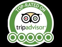 OrtsaSailing top-rated on Tripadvisor logo